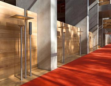 BNF – Paris / mobilier et luminaires