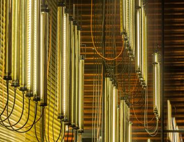 Grand théatre – Albi / mobilier & luminaires