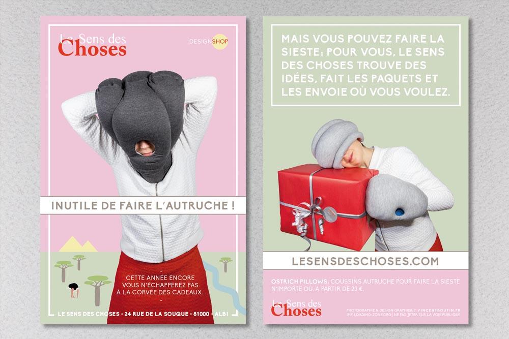 identite-flyers_le-sens-des-choses_albi_designshop-inutile-de-faire-lautruche