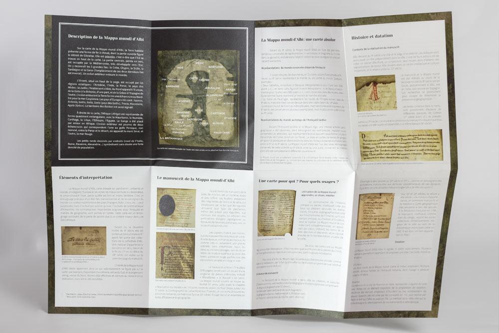 Mappa_Mundi_Albi_Patrimoine_Unesco_depliant_mediatheque_ouvert